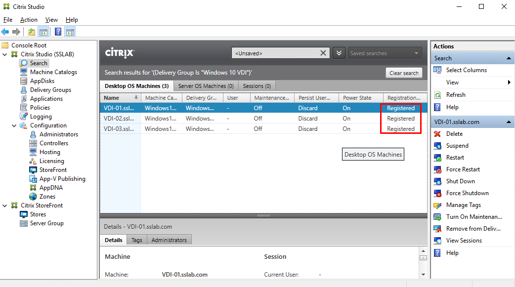 Installation and Configuration of Citrix XenDesktop & XenApp 7.17 on ...