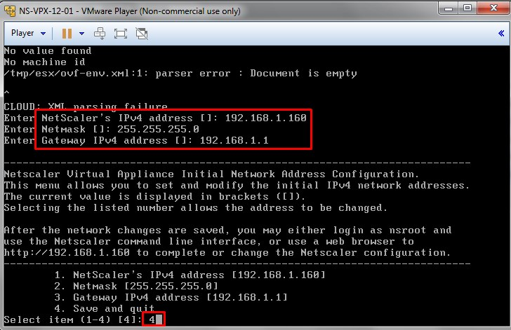 Netscaler 12 VPX installation on ESXi and Licensing – Siva