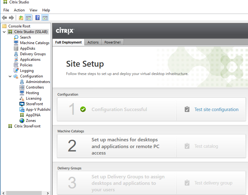 Installation and Configuration of Citrix XenDesktop & XenApp