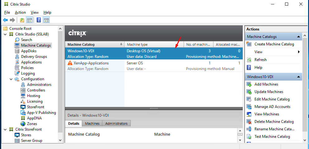 Installation and Configuration of Citrix XenDesktop & XenApp 7 17 on