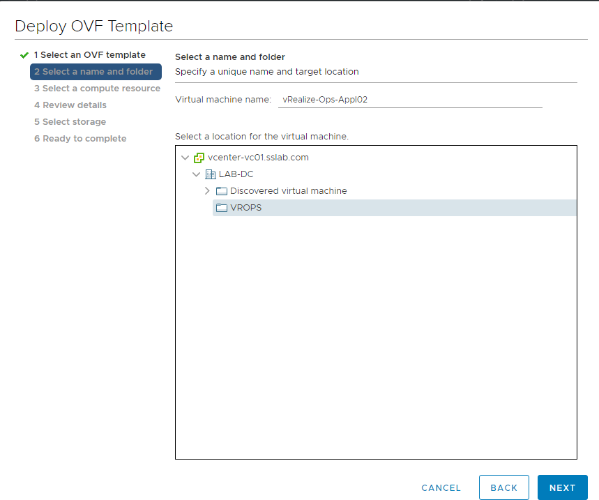 Part 1: VMWare vROPS 6 7 First Node or Master Server Installation